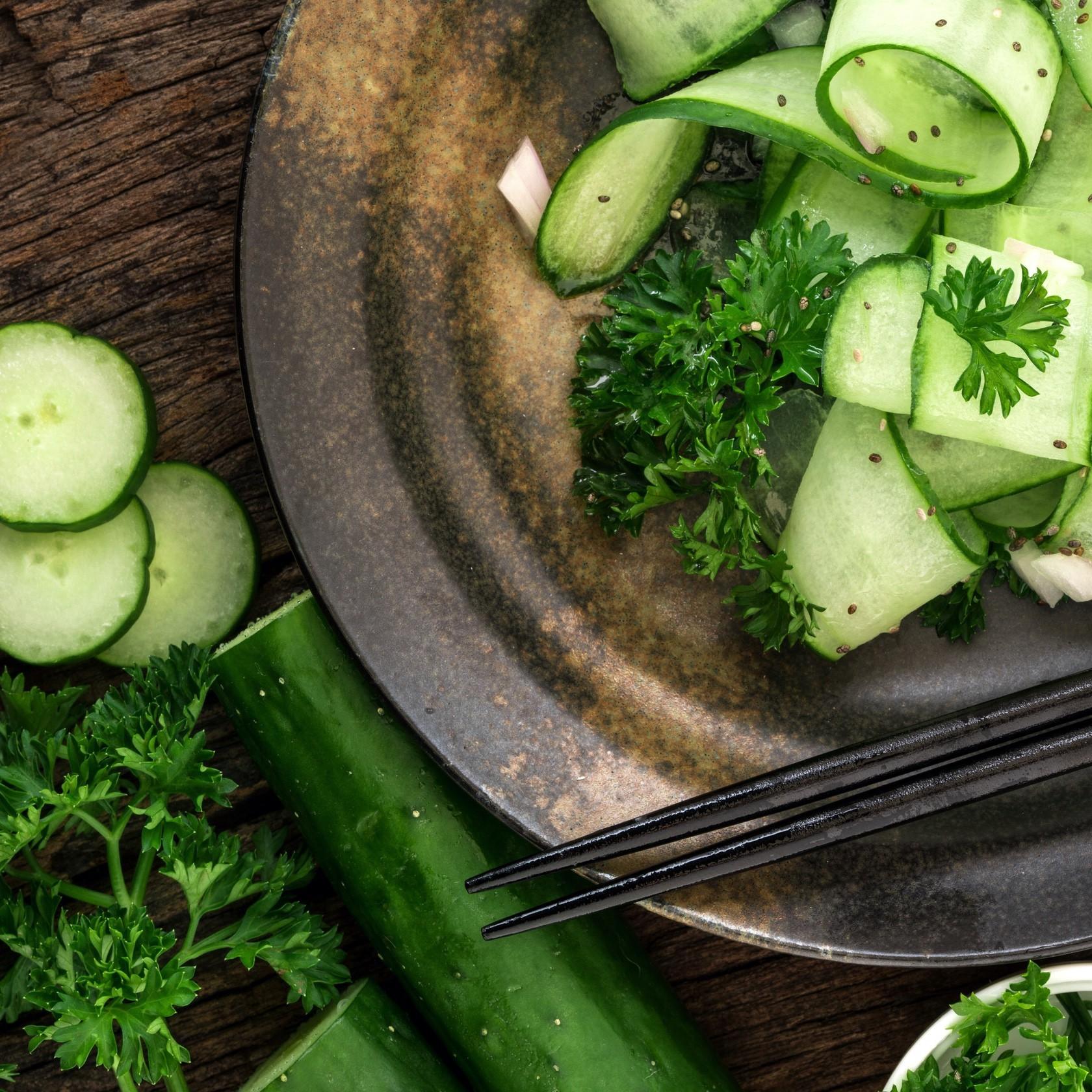 Waarom is komkommer zo gezond?
